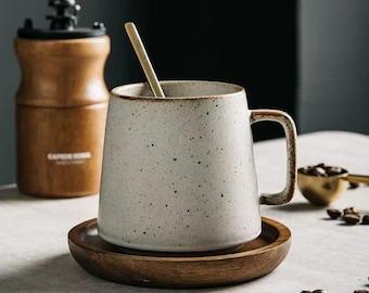 Handmade Artisan Mug, Mug with handle, Ceramic Coffee Mug,Stoneware Mug
