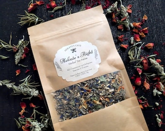 Hekate's Flight Herbal Tea Potion - Hecate, Ritual, Hekatean Witchcraft, Goddess, Offering, Devotion, Spellwork,  Loose Incense