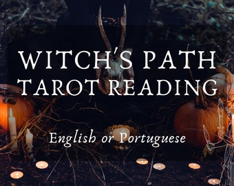 Witch's Path Tarot Reading with Hekate's Guidance (in English or Portuguese) - Hecate, Divination, Hekatean Witchcraft, Tarô