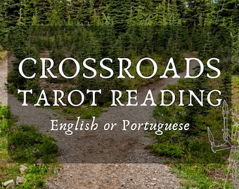 Crossroads Tarot Reading with Hekate's Guidance (in English or Portuguese) - Hecate, Divination, Hekatean Witchcraft, Crossroads, Tarô