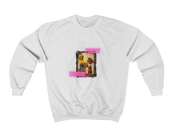 Punchy Heavy Blend Crewneck Sweatshirt