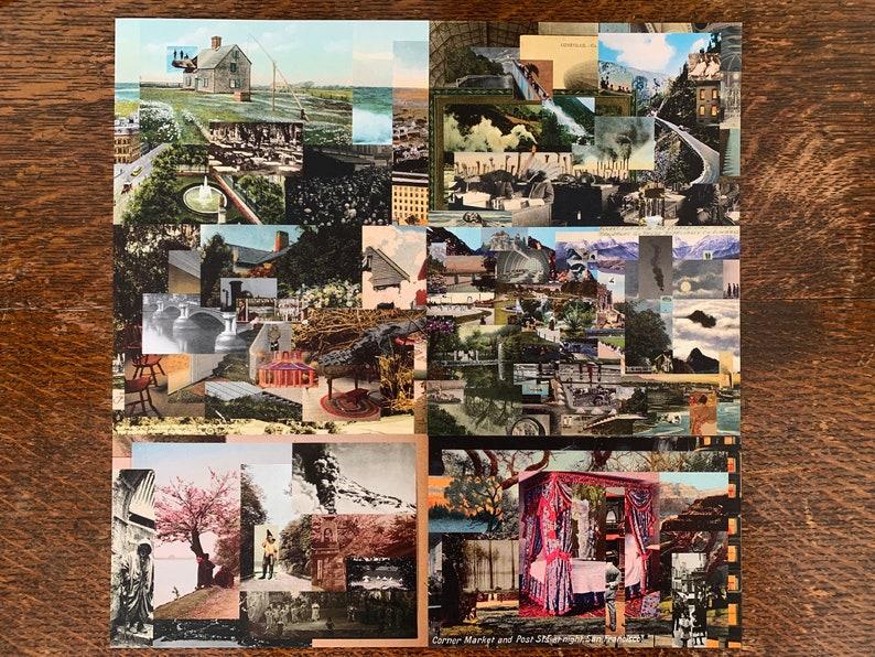 New Postcards  Collage Set image 1