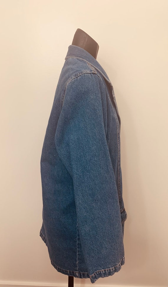 Vintage Jean Jacket Blazer - image 2