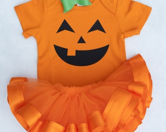 Jack O'Lantern / Pumpkin Tutu Costume