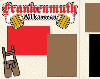 Frankenmuth Scrapbook Page Kit
