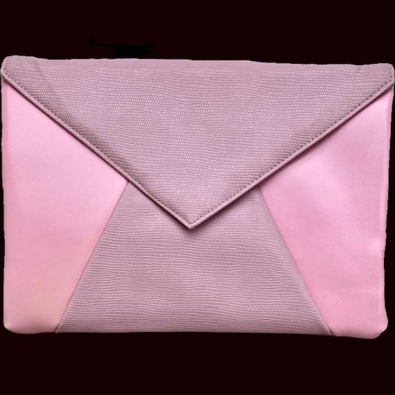 Bubblegum Pink Envelope Purse - image 2