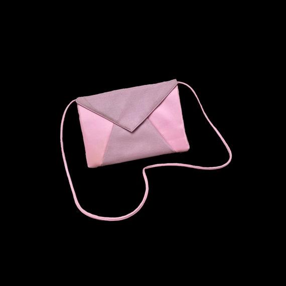 Bubblegum Pink Envelope Purse - image 1