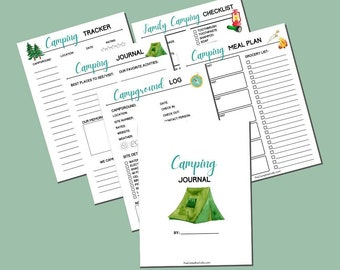 Camping Planner Printable Bundle