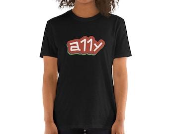 a11y - Short-Sleeve Unisex T-Shirt