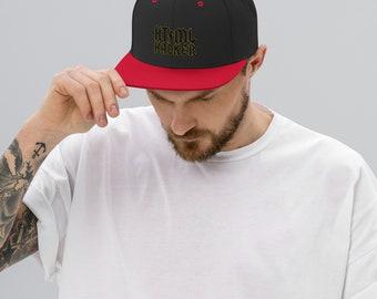 html hacker - Snapback Hat
