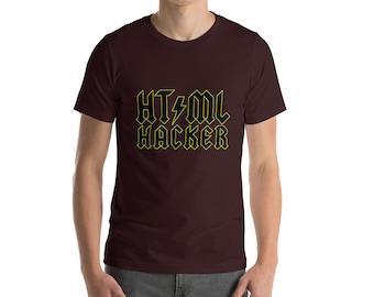 HTML HACKER - Short-Sleeve Unisex T-Shirt