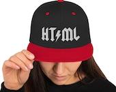 HT/ML -  Snapback Hat