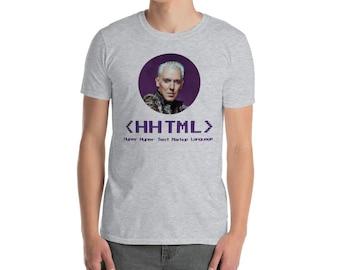 HHTML by Lauke Short-Sleeve Unisex T-Shirt