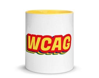 WCAG - Mug with Color Inside