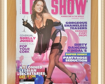 Leg Show US Issue January 2004 Adult Magazine From 18 Years Erotic Lovers Collector DWT Fetish Crossdresser