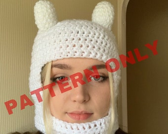 Finn the Human Hat: Adventure Time - Pattern Only