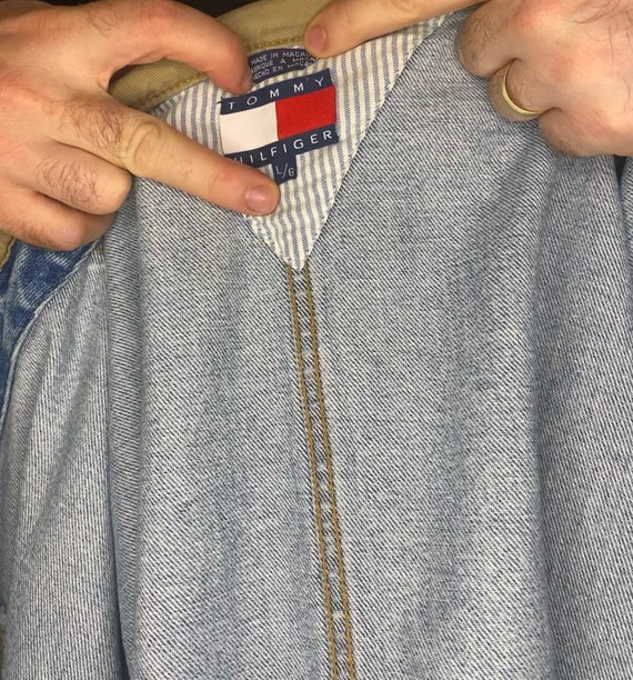 Vintage 90's Tommy Hilfiger Denim Jacket - image 6