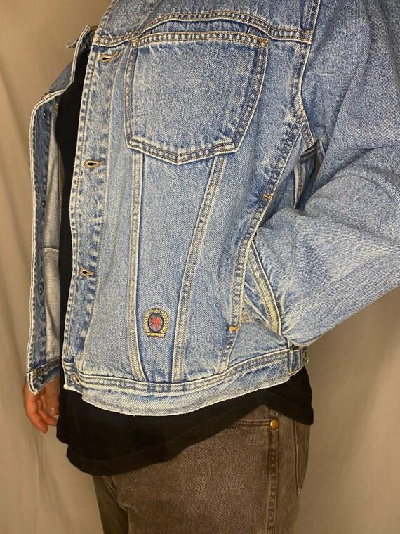 Vintage 90's Tommy Hilfiger Denim Jacket - image 4