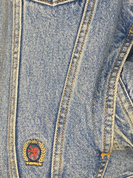 Vintage 90's Tommy Hilfiger Denim Jacket - image 5