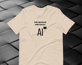 This Massage was Wirtten by AI Typos Copywriter Tee