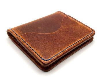 The Fort Worth Handmade Leather Wallet Bifold Wallet Men's Wallet
