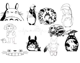 21 My Neighbor Totoro SVG Files