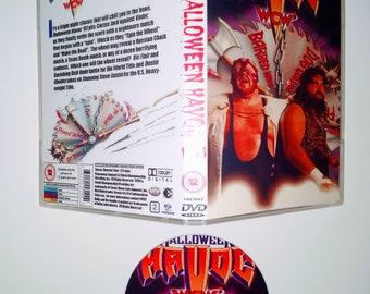 WCW 1993 HALLOWEEN HAVOC 5 Dvd & Case Vhs
