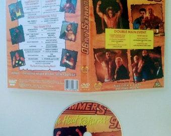 WWF 1990 SUMMERSLAM 3 DVD & Case Vhs