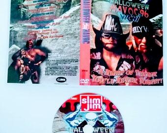 WCW 1996 HALLOWEEN HAVOC 8 Dvd & Case Vhs