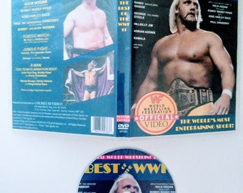 WWF 1987 BEST Of The WWF 11 Dvd & Case Vhs