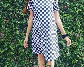 Patrón Digital de Vestido Corto con silueta en Línea A | Size 04-24 | Descarga Instantánea con 12 tamaños para imprimir