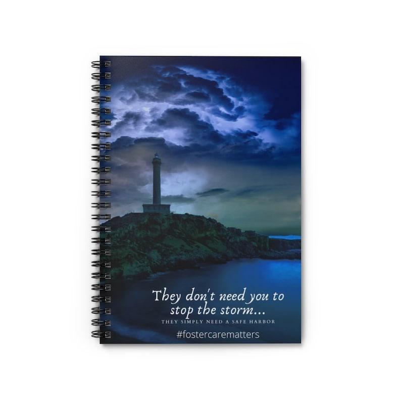 Safe Harbour Spiral Notebook  Ruled Line image 1