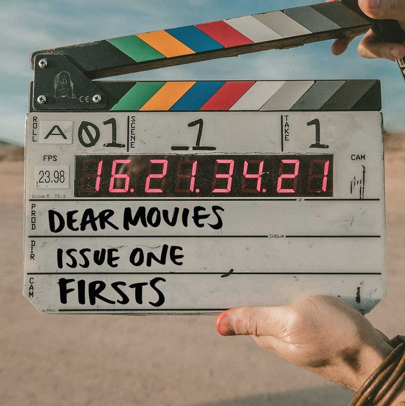 DIGITAL VERSION  Dear Movies zine Issue 1: Firsts image 1
