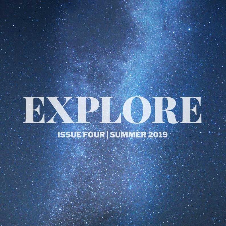 DIGITAL VERSION  Dear Movies zine issue 4: Explore image 1