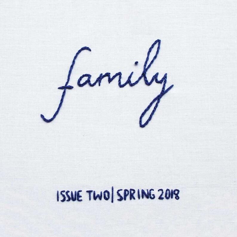 DIGITAL VERSION  Dear Movies zine Issue 2: Family image 1
