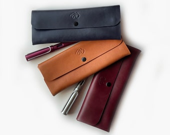 Premium Leather Pen / Pencil / Glasses Case / Leather Gift / Leather Accessories / Leather Product