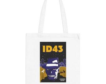 ID43 Movie Poster Minimalist Print | Long Handle Canvas Tote Bag | 2 colors