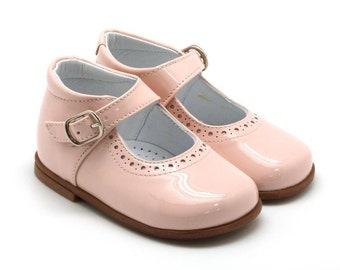 Beberlis Toddler Classic Pink Mary Jane Dress Shoes- SIZE 20 & 23 LEFT
