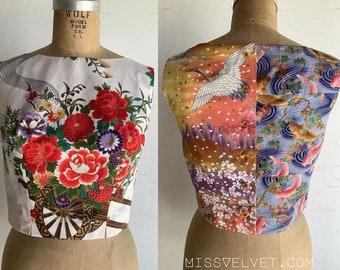 Back Button Blouse Floral Sleeveless Shirt