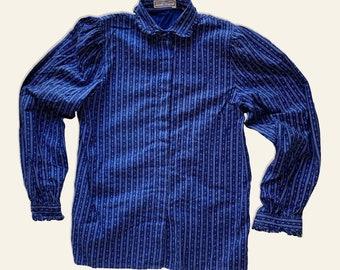 Vintage Provencal blouse