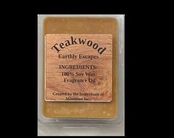 Teakwood Wax Melts