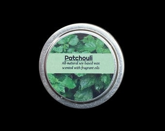 Patchouli Candle Tin