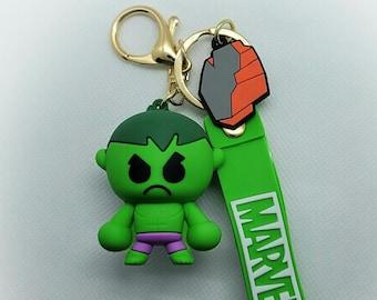 The Incredible Hulk Marvel Key Chain - 3D PVC High Durability