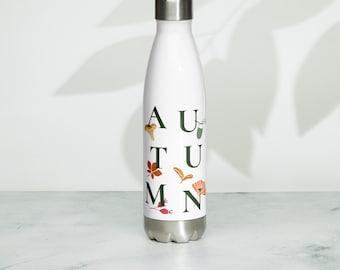 Autumn Simple Stainless Steel Water Bottle