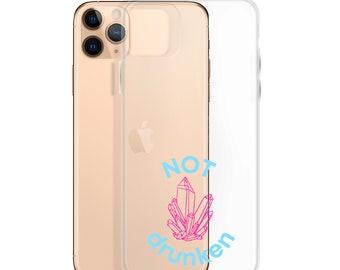 """Amethyst """"Not Drunken"""" iPhone Case"""