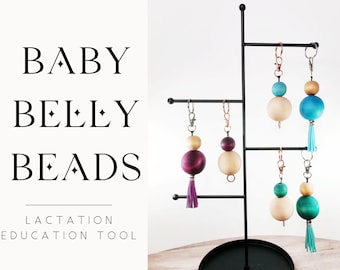 Baby Belly Beads: Lactation Educational Tool (for midwives, doulas, lactation consultants, IBCLCs, etc.)