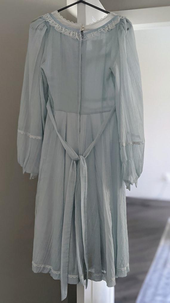 70s Vintage Gunne Sax Midi Dress - image 3