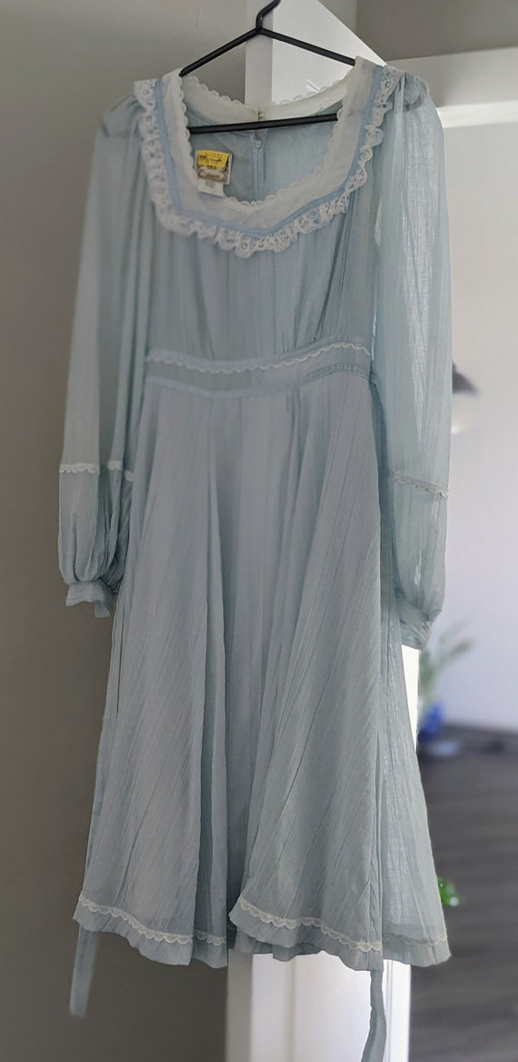 70s Vintage Gunne Sax Midi Dress - image 2