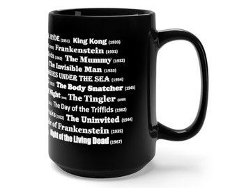 Monster Movie Black Mug 15oz