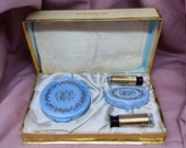 MAX FACRTOR Case Mates Gift Set Vintage - golden pearl - jewel cluster - mother of pearl